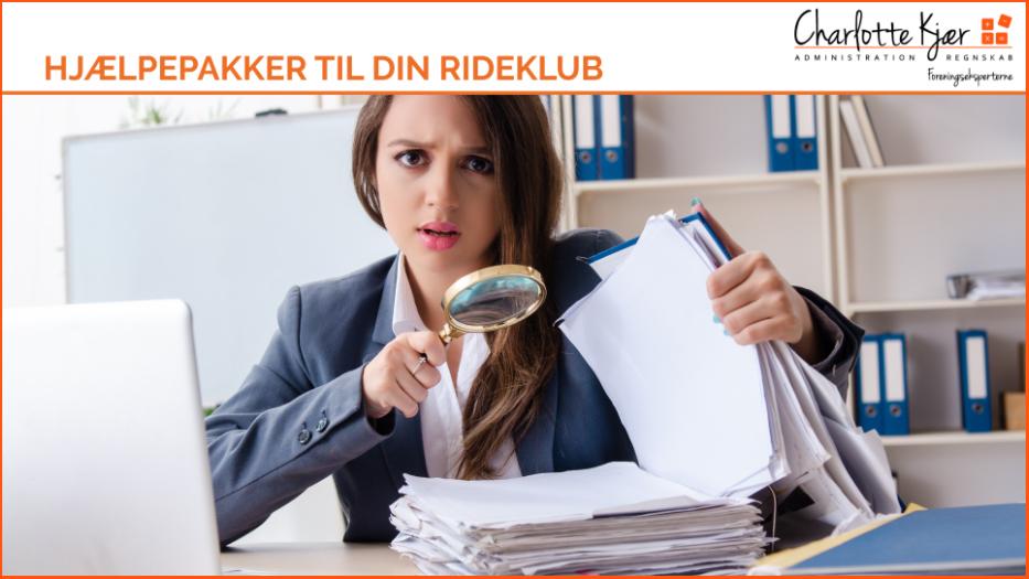HJÆLPEPAKKER TIL DIN RIDEKLUB