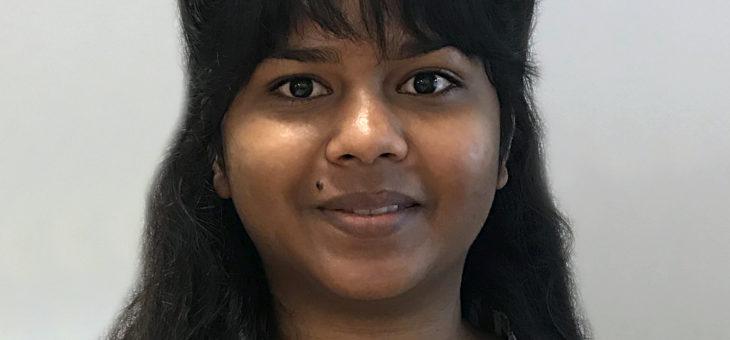 Vi byder varmt velkommen til vores nye økonomielev Salini Mohan